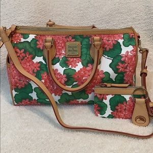 Dooney & Bourke Satchel with Coin Purse
